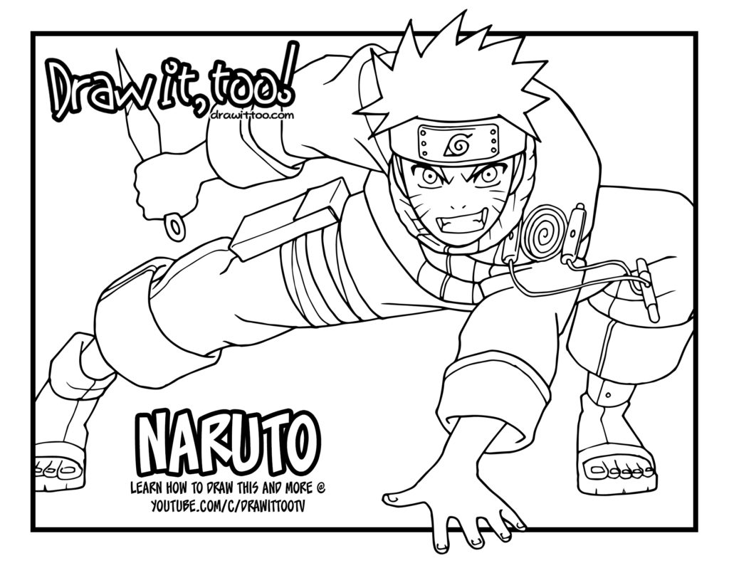 naruto u2013 draw it too
