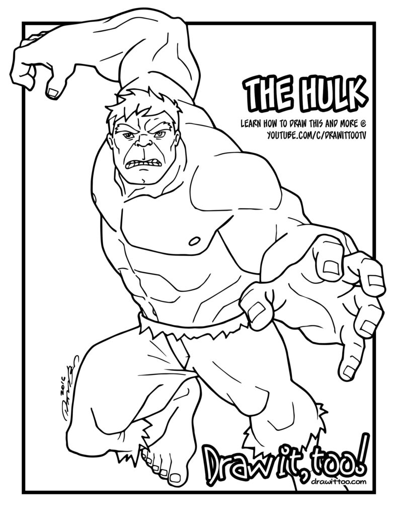 HULK SMASH! | Draw it, Too!