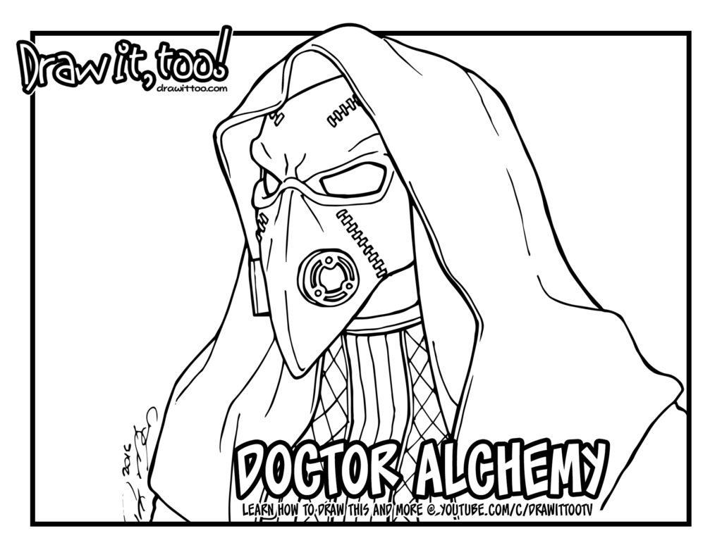 doctor alchemy the flash u2013 draw it too