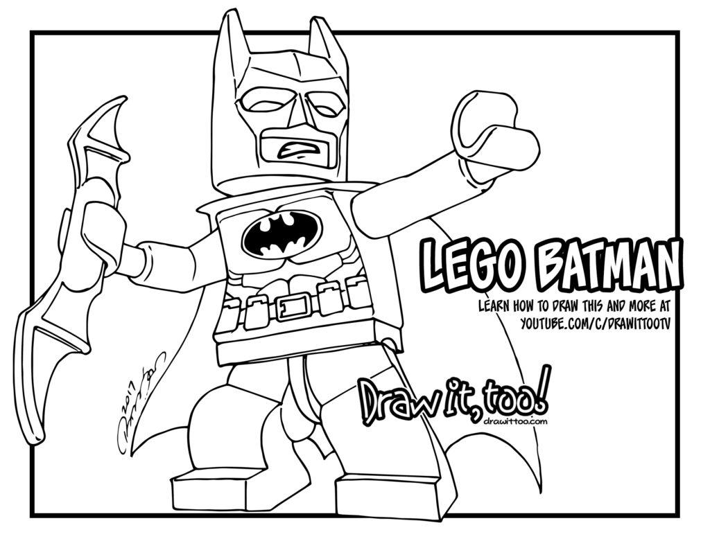 lego batman the lego batman movie u2013 draw it too