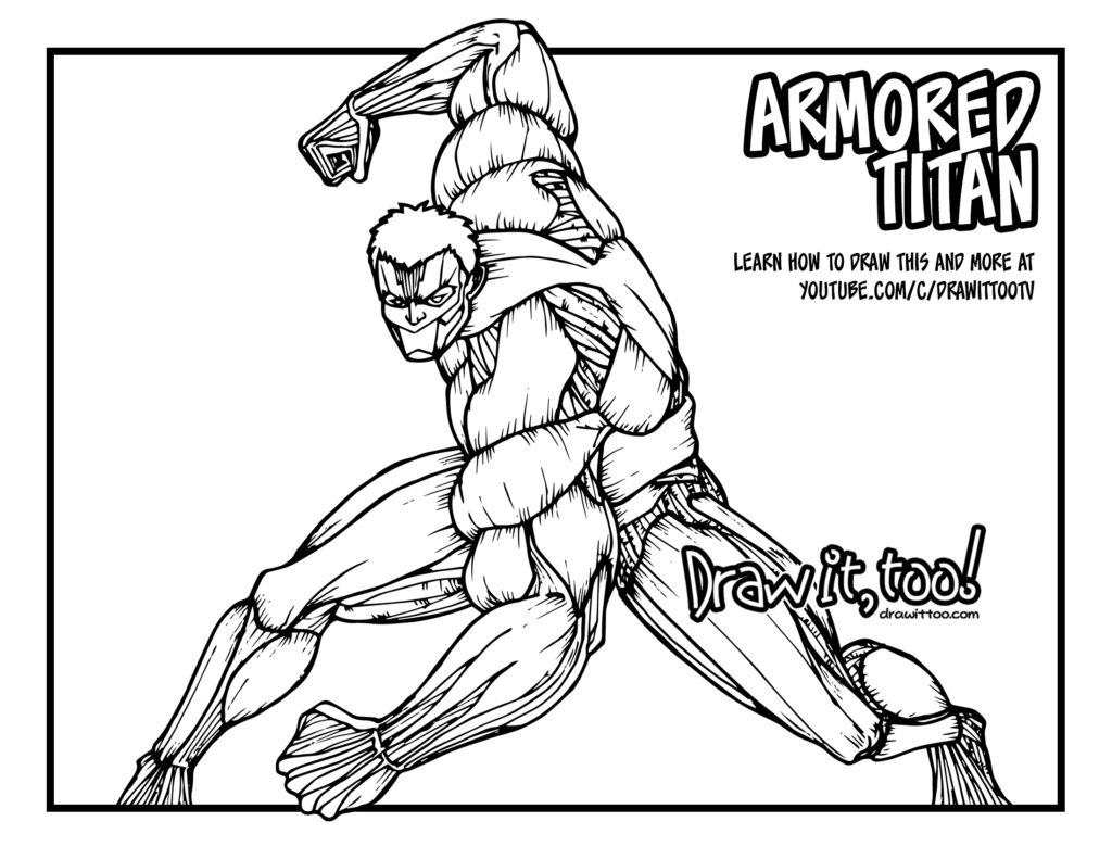 armored titan  attack on titan  tutorial