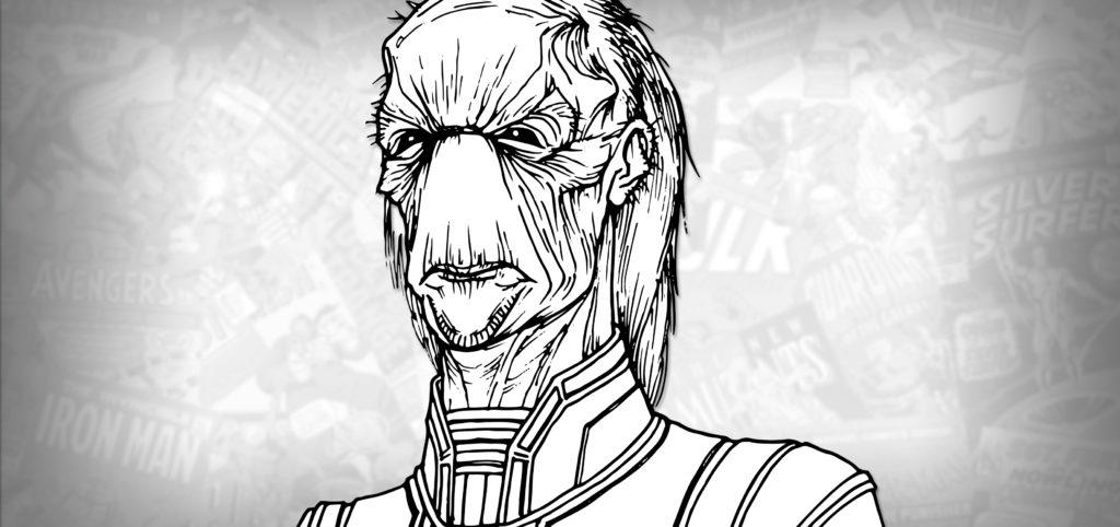 How to Draw EBONY MAW (Avengers: Infinity War) Drawing ...